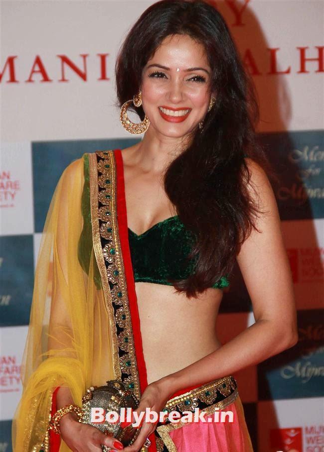Vidya Malvade, Top Bollywood Celebs at Men For Mijwan Charity Fashion Show
