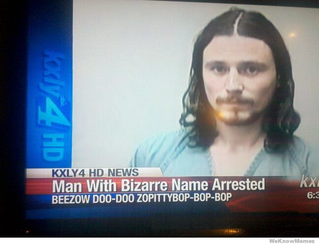 The Strangest Names Ever - The Wizard | Guff