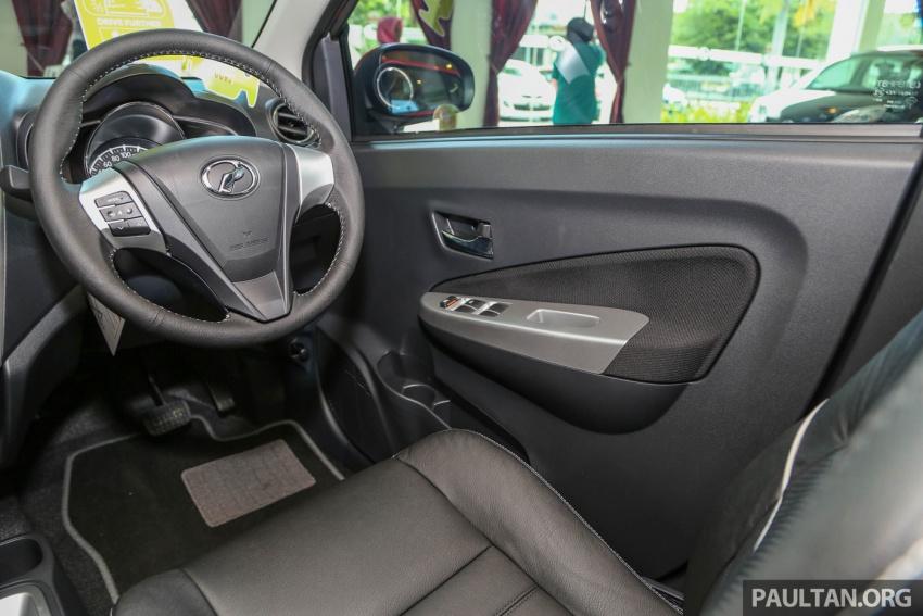 Gambar Bahagian Dalaman Perodua Axia Advance Baru 2017
