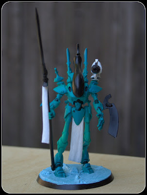 Airbrushed Mymeara Eldar Wraithseer Conversion