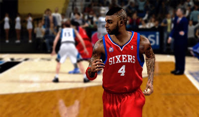 NBA 2K13 Dorell Wright Cyberface Mod