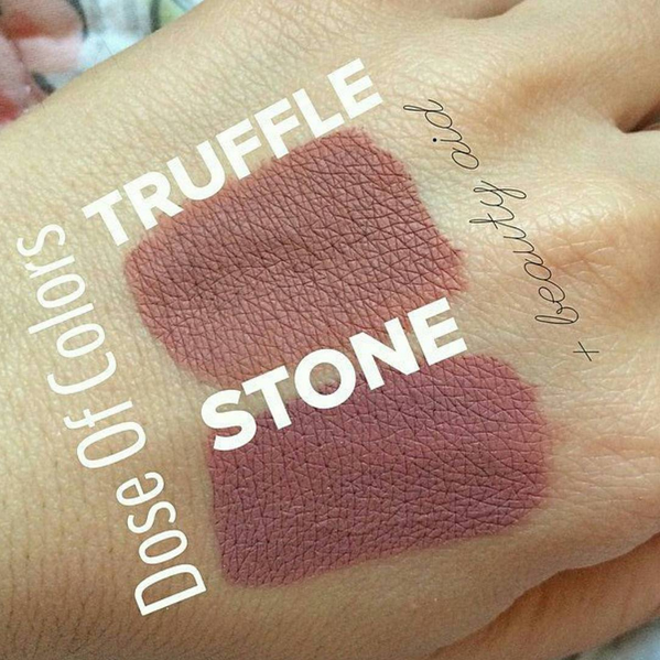 Dose of Colors Sand Liquid Lipstick Dupes - All In The Blush
