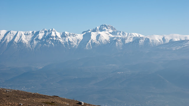 Gruppo del Gran Sasso da monte Ocre