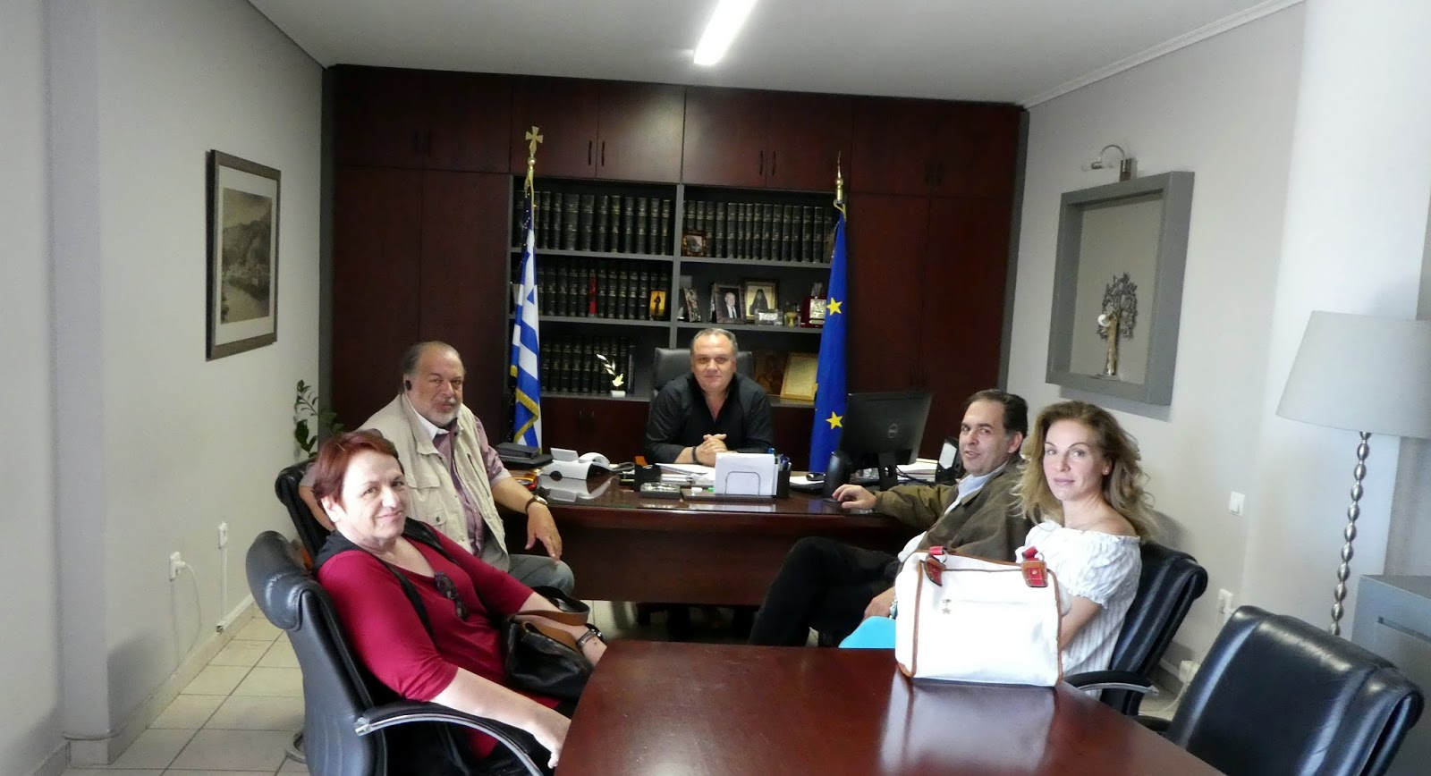 Με τον Δήμαρχο Ωρωπού κ. Θωμά Ρούσση συναντήθηκαν εχθές 28 Απριλίου 2018 8dfddfbe67e