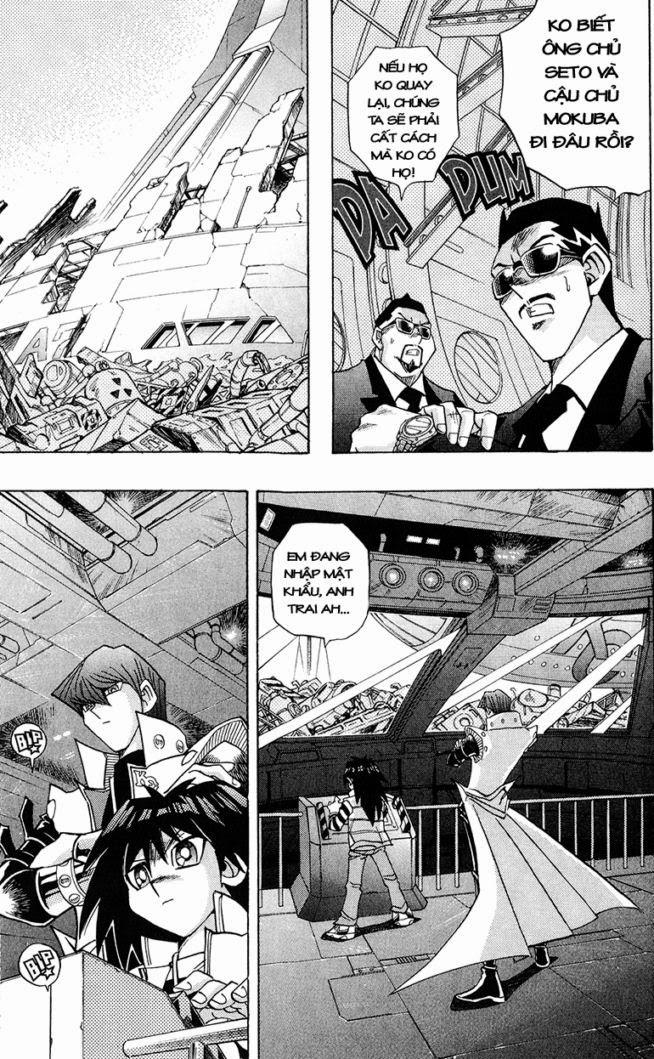 YUGI-OH! chap 277 - vĩnh biệt alcatraz trang 16