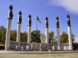 Monumento a los niños héroes, castillo de Chapultepec. Ciudad de Mexico