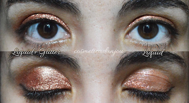 Touch In Sol Metallist Liquid Foil & Glitter Eye Shadow Duo #Margaret