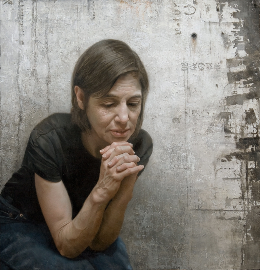 02-Aunt-Dale-in-Contemplation-David-Kassan-Painting-Portraits-to-bring-out-the-Emotions-www-designstack-co