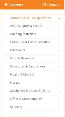 kategori produk di ralali B2B marketplace