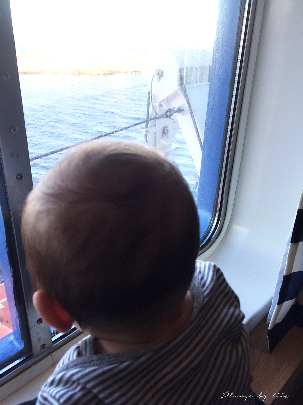 Baby on boat