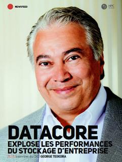 HPC Review: Interview: George Teixeira fondateur et CEO de l'entreprise