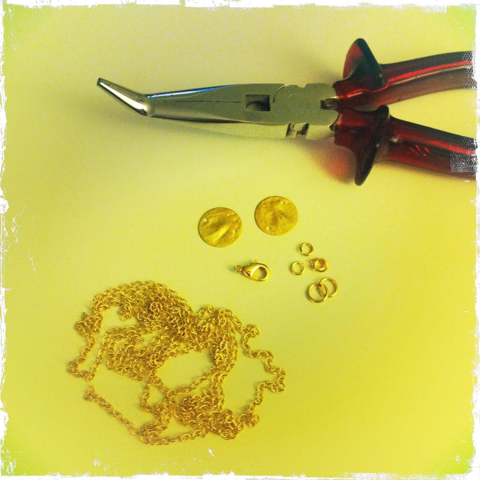 runde goldene kette