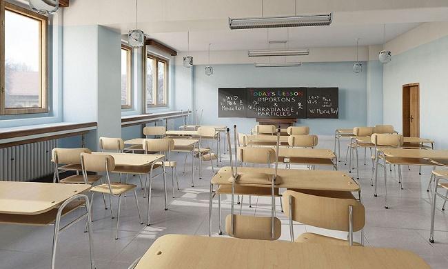 Phòng học hiện đại đầy đủ trang thiết bị tại chung cư An Bình City