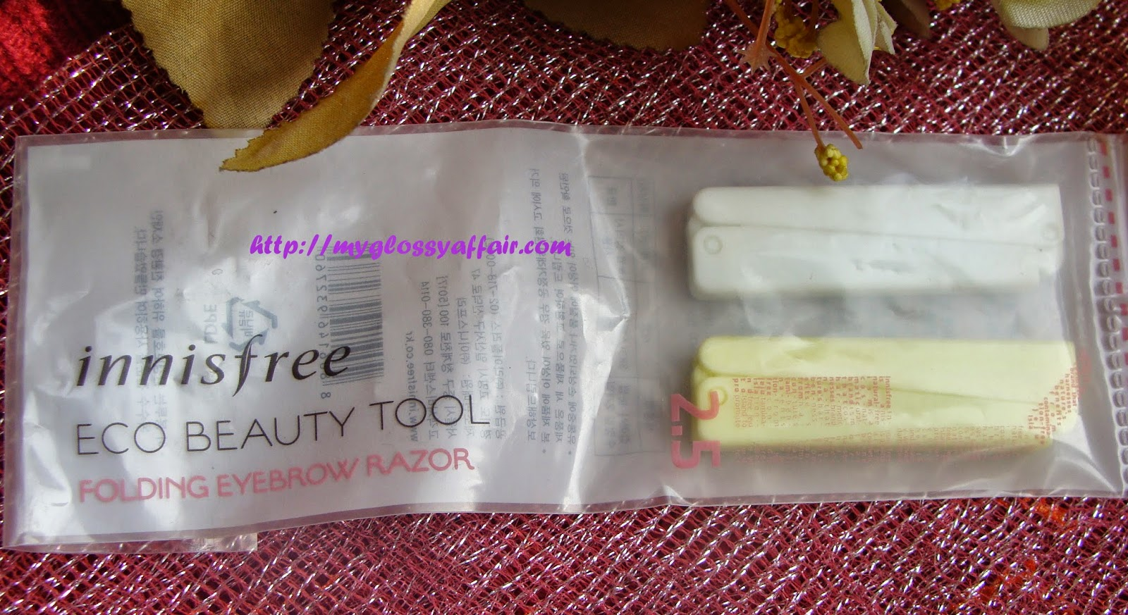 Innisfree Folding Eyebrow Razor  Review