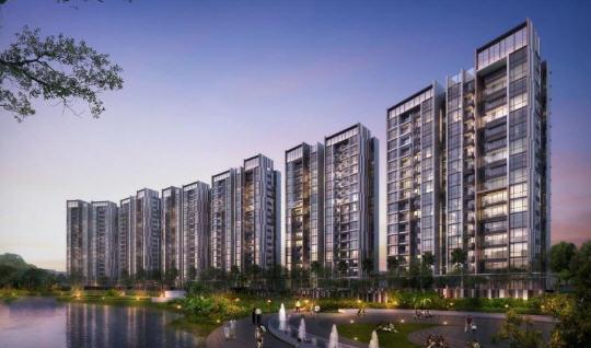 Apartemen Marigold Di kawasan Navapark