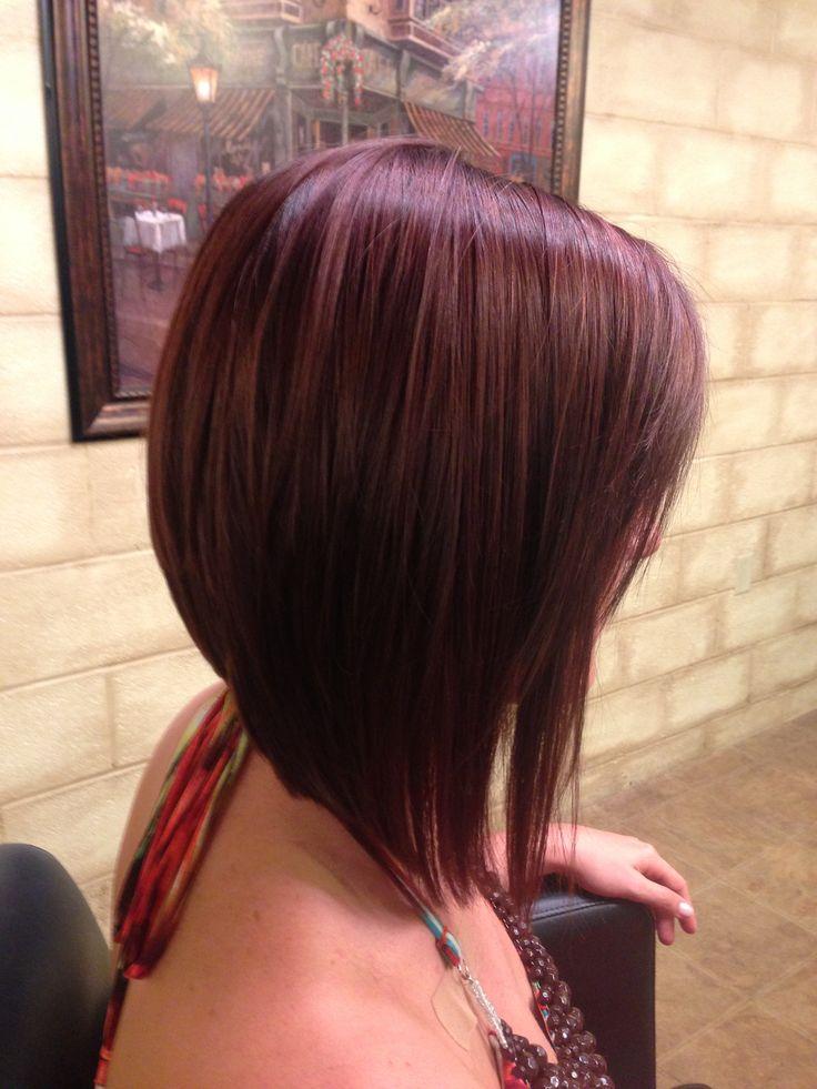 42 Stylish Angled Bob Haircuts Hairstylo
