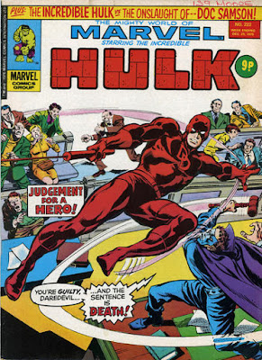 Mighty World of Marvel #222, Daredevil