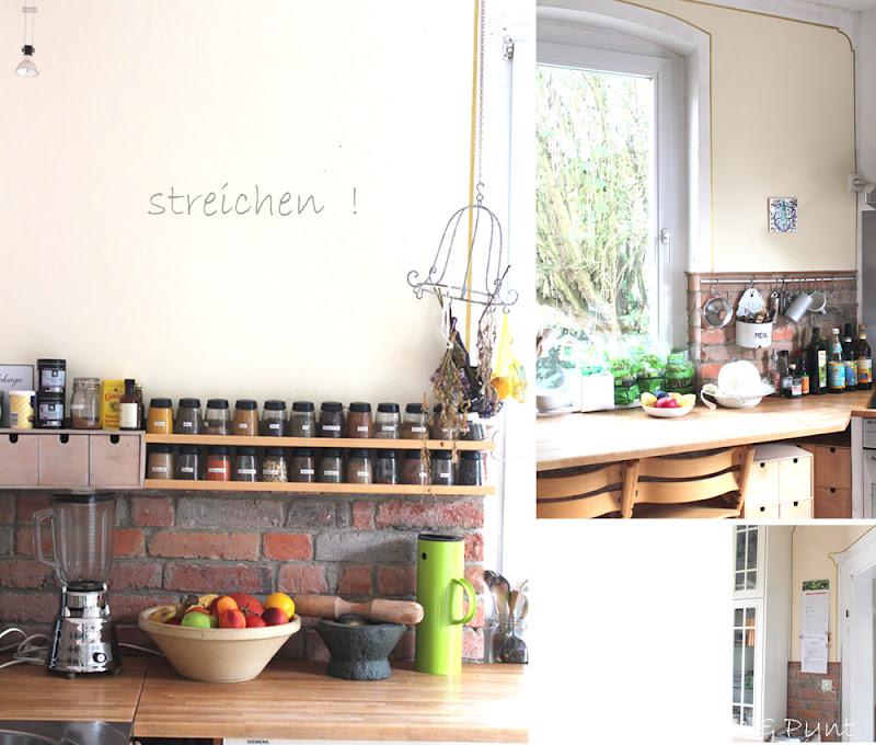 seidenfeins blog vom sch nen landleben ein eimer wei e farbe kitchen finally back in white. Black Bedroom Furniture Sets. Home Design Ideas