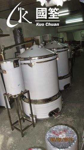 國筌工業社: 800公升蒸餾機,製酒機,蒸餾機,錐型蒸餾器,含冷卻器, 製酒器具