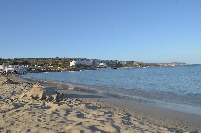 Praia de Mellieha Bay