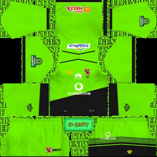 5008419bdb2 Al Ahly SC (Egypt) 2018/19 Kit - Dream League Soccer Kits - Kuchalana