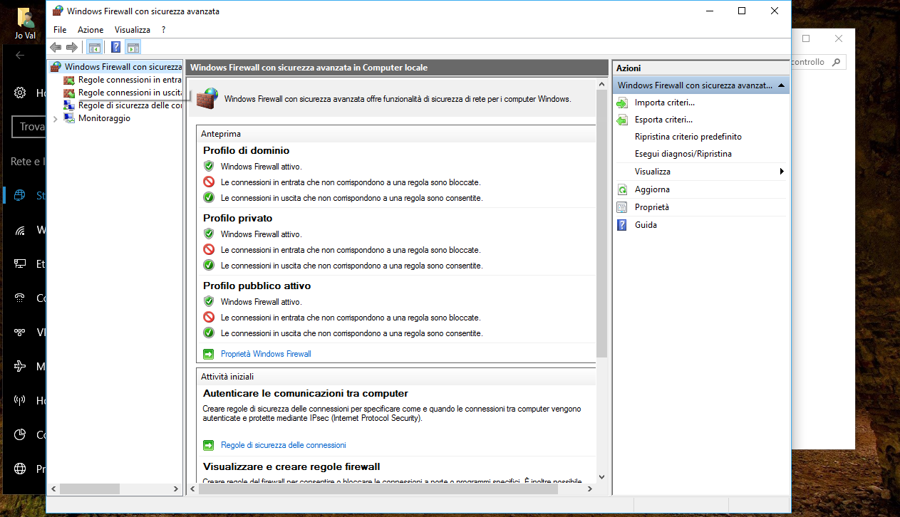 Come reimpostare il Firewall predefinito in Windows 10 3 HTNovo