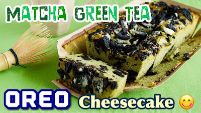 Matcha green tea oreo cheesecake video recipe create eat happy you can make this cheesecake by only mixing the ingredients forumfinder Gallery