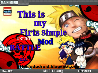 Naruto Senki First Simple Mod v1.17 No Delay by Tatang