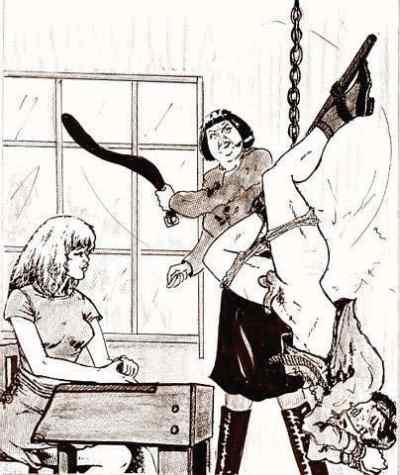 preston femdom comics