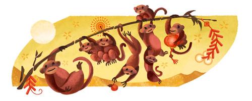Tahun Baru Imlek 2016 Dari Google Doodle