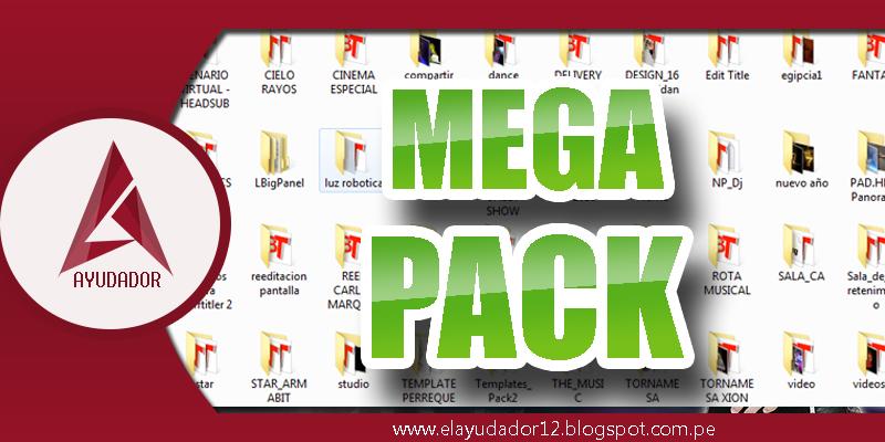 MEGA PACK DE PLANTILLAS PARA BLUFFTITLER ~ EL AYUDADOR