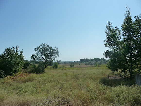 Річка Вовча. Колишні котловани для зрошення полів