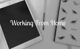 Working from home image