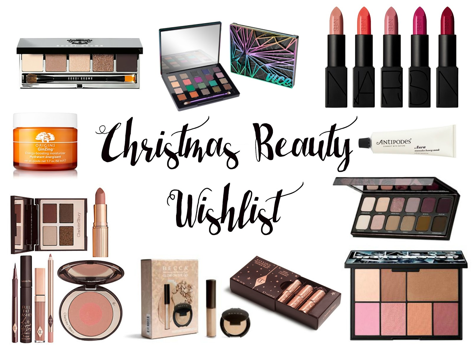 Blogmas Christmas Beauty Wishlist 2015