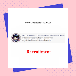 NIMHANS Recruitment 2019 for Nursing Officer & JSA (115 Vacancies)