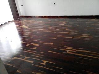 flooring sonokeling kayu