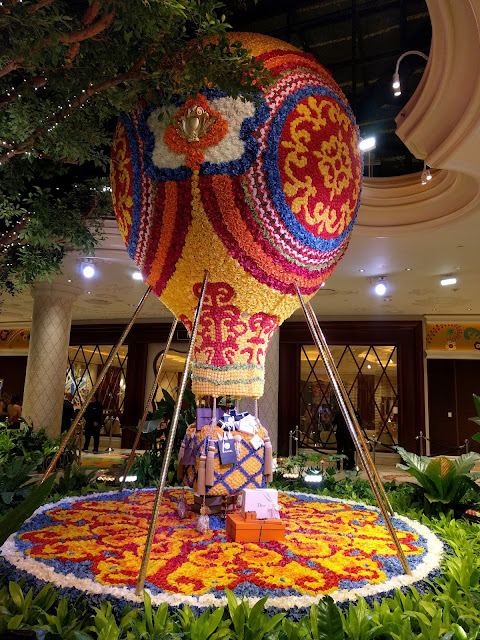 Hot air balloon at the Wynn