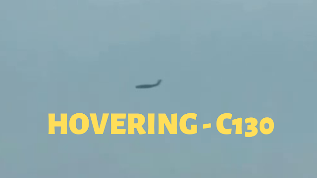 Airplane hovering in mid flight over New Jersey is impossible but is happening in this video.
