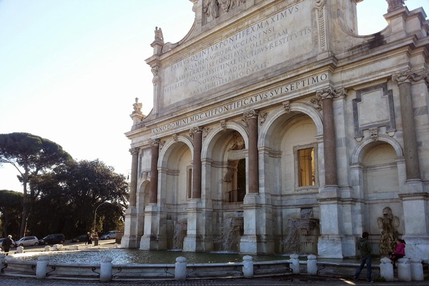 Fontana dell'Acqua Paola w Rzymie