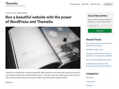 Themelia WordPress Theme