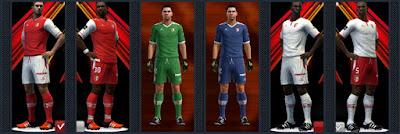 PES 2013 SC Braga kits 16-17 by Radymir