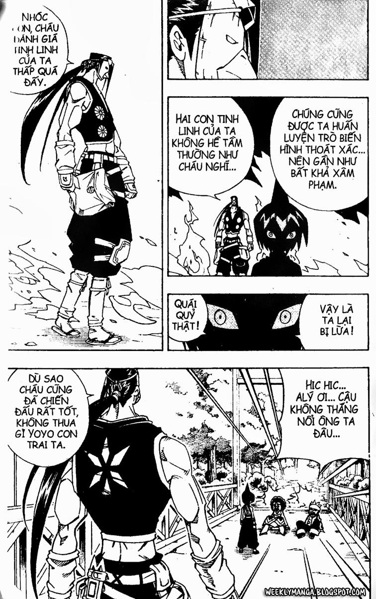 Shaman King [Vua pháp thuật] chap 146 trang 17