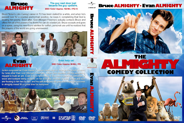 The Almighty Comedy Collection DVD Cover