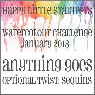 HLS January Watercolour Challenge до 31/01