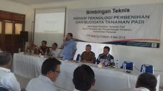 Sejumlah Petani Mengikuti Bimtek Dari Kementrian Pertanian Indonesia