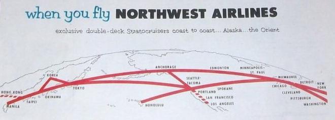 The Timetablist: Northwest Airlines: The Oriental Route, c ... on northwest cargo, northwest area map, northwest weather map, northwest parkway map, northwest boulevard map,