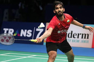 Kidambi Srikanth becomes world No. 1 badminton player