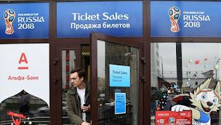 عاجل |الفيفا يحارب بيع تذاكر مونديال روسيا بشكل غير شرعي