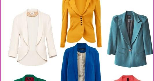 4aa4a355fe Coisas da Zuh  Blazers e ternos coloridos