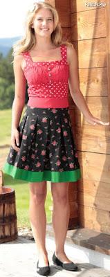 Faldas Cortas Estampadas